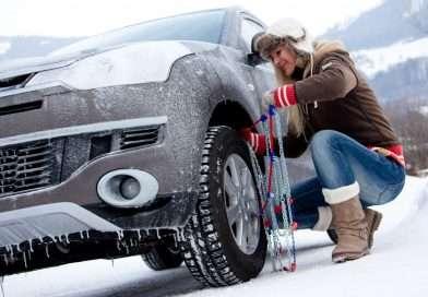 Ratgeber: Schneeketten richtig aufziehen